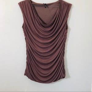 Brown Sleeveless tank